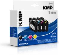 KMP E158V 3ml 5ml 175Seiten 180Seiten Schwarz, Cyan, Magenta, Gelb Tintenpatrone