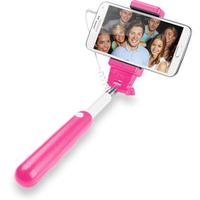 Cellular Line SELFIESTICKP Selfie-Stab (Pink, Silber)