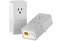Netgear PLP1200-100PES PowerLine Netzwerkadapter (Weiß)