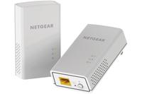 Netgear PL1200-100PES PowerLine Netzwerkadapter (Weiß)