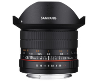 Samyang 12mm F2.8 ED AS NCS (Schwarz)