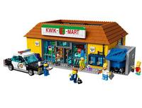 Lego The Simpsons Kwik-E-Mart (Mehrfarbig)