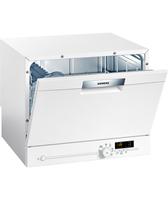 Siemens SK26E221EU Freestanding 6places A+ White Spülmaschine (Weiß)