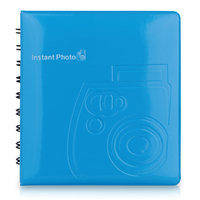 Fujifilm Instax Mini Blau Fotoalbum (Blau)