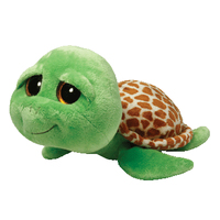 TY Zippy - green turtle (Braun, Grün)