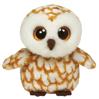 TY Swoops - brown barn owl (Braun, Weiß)
