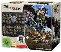 Nintendo New 3DS + Monster Hunter 4 Ultimate (Schwarz)