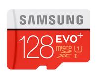 Samsung MB-MC128DA 128GB MicroSDHC UHS Class 10 Speicherkarte (Schwarz, Rot, Weiß)