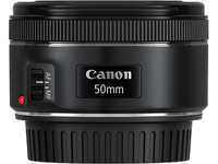 Canon EF 50mm f/1.8 STM (Schwarz)