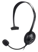 Bigben Interactive PS4COMMUNICATOR Monophon Kopfband Schwarz Headset (Schwarz)