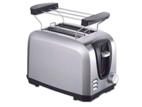Tristar Toaster (Schwarz, Edelstahl)