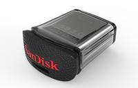 Sandisk Ultra Fit 128GB (Schwarz, Metallisch)