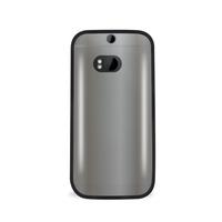 PURO HCONE2014CLEARBLK Handy-Schutzhülle (Schwarz)