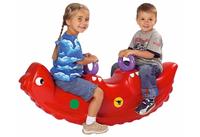 BIG 800001335 Aufsitzspielzeug (Rot)