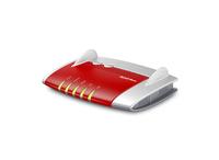 AVM FRITZ!Box 4020, DE WLAN Eingebauter Ethernet-Anschluss Rot (Rot)