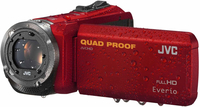 JVC GZ-R315R Digitale Videokamera (Rot)