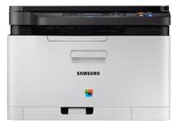 Samsung Xpress SL-C480W 2400 x 600DPI Laser A4 18Seiten pro Minute WLAN Multifunktionsgerät (Schwarz, Weiß)