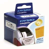 DYMO LabelWriter Labels Suspension File (Schwarz, Weiß)
