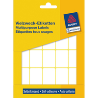 Avery Mini-Organisations-Etiketten, weiß, 32 x 23 mm, permanent (Weiß)