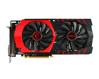 MSI R9 390 GAMING 8G AMD Radeon R9 390 8GB (Schwarz, Rot)