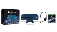 Microsoft Xbox One 1TB + Forza Motorsport 6 (Schwarz, Blau)
