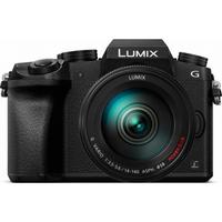 Panasonic Lumix DMC-G70 + H-FS14140E (Schwarz)