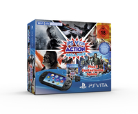 Sony PlayStation Vita Action Mega Pack (Schwarz)