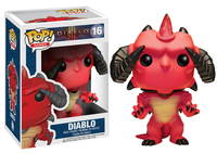 FUNKO Pop! Games: Diablo - Diablo Collectible figure Pop! Games: Diablo (Mehrfarben)