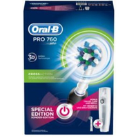Oral-B PRO 760 Rotierende-vibrierende Zahnbürste Schwarz (Schwarz)