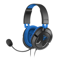 Turtle Beach Ear Force Recon 60P Stereophonisch Kopfband Schwarz, Blau Headset (Schwarz, Blau)