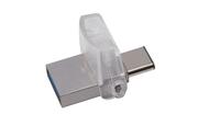 Kingston Technology DataTraveler microDuo 3C 16GB (Silber)