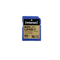 Intenso 16GB SDHC (Blau)