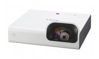 Sony VPL-SX236 Desktop-Projektor 3300ANSI Lumen 3LCD XGA (1024x768) Weiß Beamer (Weiß)