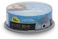 M-DISC MDBD015 R/W blu-raydisc (BD) (Schwarz)