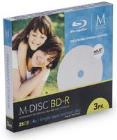 M-DISC MDBDIJ003 R/W blu-raydisc (BD) (Weiß)