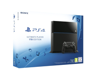 Sony PlayStation 4 Ultimate Player 1TB Edition (Schwarz)
