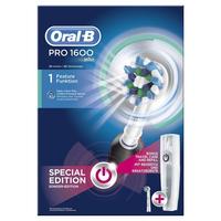 Braun Oral-B Pro 1600 (Schwarz, Weiß)