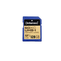 Intenso SDXC, 128GB (Blau)