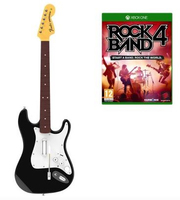 Mad Catz Rock Band 4 - Wireless Fender Stratocaster Guitar Bundle, Xbox One