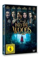 Disney Into the Woods DVD 2D Deutsch