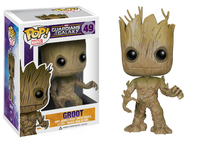 FUNKO Pop! Marvel: Guardians of the Galaxy - Groot Collectible figure Pop! Marvel: Guardians of the Galaxy (Schwarz, Braun)