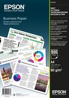 Epson Business Paper 80gsm 500 shts A4 (210×297 mm) Weiß Druckerpapier (Weiß)