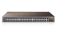 TP-LINK Managed 48+4G-Gigabit-Uplink-Switch