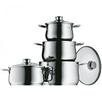 WMF Cookware set DIADEM PLUS 4-pc Topf-Set (Edelstahl)