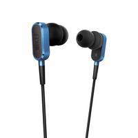 KEF M100 Binaural im Ohr Schwarz, Blau (Schwarz, Blau)