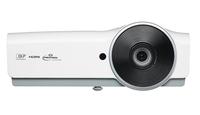 Vivitek DW814 Desktop-Projektor 3800ANSI Lumen DLP WXGA (1280x800) 3D Weiß Beamer (Weiß)