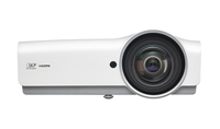 Vivitek DW882ST Desktop-Projektor 3600ANSI Lumen DLP WXGA (1280x800) Grau, Weiß Beamer (Grau, Weiß)