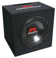 Renegade RXV1000 Auto-Subwoofer (Schwarz)