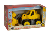 BIG Power-Worker Mini Radlader (Grau, Gelb)