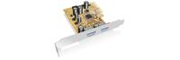 ICY BOX IB-U31-02 Eingebaut USB 3.1 Schnittstellenkarte/Adapter (Silber)